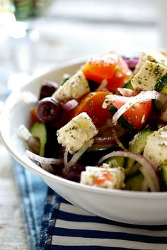 My favourite Greek Salad - Simply Delicious— Simply Delicious