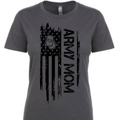 Army Mom Tactical shirts DAN, This t-shirt is Made To Order, one by one printed so we can control the quality. Army Mom Shirts, Family Shirts, Military Mom, Military Crafts, Military Party, Tactical Shirt, Army Family, Army National Guard, Army Girlfriend