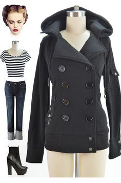 Just restocked at Le Bomb Shop! Find them here: http://www.ebay.com/itm/Comfy-CHIC-BLACK-Double-Breasted-BOMBER-Pea-Coat-Jacket-HOOD-Pockets-/141059749626?pt=US_CSA_WC_Outerwear&var=&hash=item667c68fb47