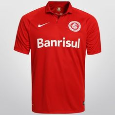 Camisa Internacional I 15 16 s nº Torcedor Nike Masculina - Compre Agora f95e30536cd5d