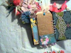 YouTube...Junk journals...Scraps, bags and tags. Excellent overview of  little vintage journals.