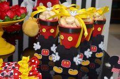 Olha que linda esta Festa Mickey e Minnie.         ...