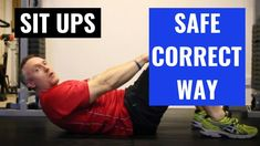 Sit up demonstration on how to do this ab exercise the correct and safe way. Sit Up, Exercise, Content, Youtube, Excercise, Ejercicio, Exercise Workouts, Physical Exercise, Sports