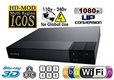 Works on any TV with HDMI connection. Now, watch all your favorite DVD's in region 0 1 2 3 4 5 6 PAL/NTSC + BD 2D & 3D ZONE A/B/C with #full HD 1080p. Supercharg...