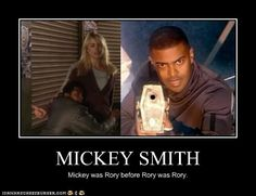 I love Mickey, thought he was a great character, but he whined a lot and Rory never did.