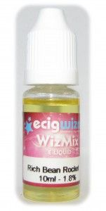 Wizmix 'Rich Bean Rocket' / ECigWizard Vaping Lounge    Click the Pic for review