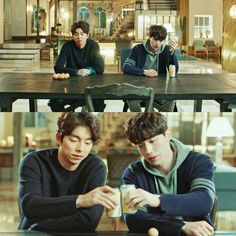 These two! One's chilling the beer and the other's boiling the egg!! #Goblin