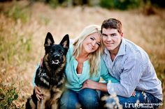 Engagement Photo Shoot with a German Shepherd Puppy | Jaclyn and Austin in San Diego / follow @True Claycombe Claycombe Photography Weddings