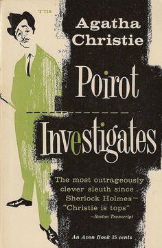 Poirot Investigates by Agatha Christie.  Avon edition.