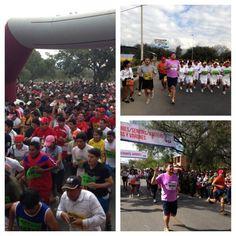 Carrera 10k en Tarija con gran participación, se inscribieron 16400 participantes y fue una fiesta deportiva tarijeña.