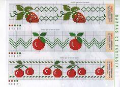 Que tal dar um visual bem delicado e personalizado para sua cozinha? Bem, isso é bem fácil, basta você aproveitar as melhores opções de bordado ponto cruz