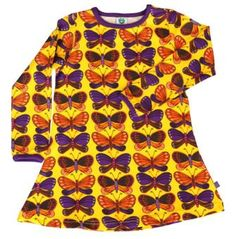 Smafolk Kleid Butterflies yellow