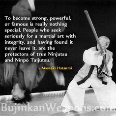 Ninjutsu - Ninja Melbourne training and classes - Free 3 lesson trial ph 9495 1929 Warrior Spirit, Warrior Quotes, Aikido, Morals Quotes, Life Quotes, Ninja, Qi Gong, Tai Chi, Pranayama