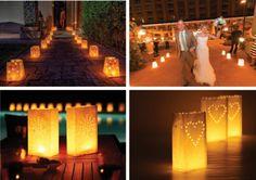 Una luz maravillosa. Ideas originales para bodas