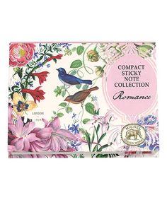 Romance Small Sticky Note Folio