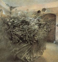 Beksinski. Only gets creepier.