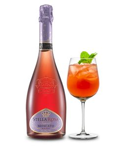 Stella Rosa Imperiale Winter Rose Cocktail