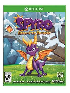 Spyro Reignited Trilogy by Activision Video Game for Sony PlayStation 4 for sale online Playstation, Xbox 1, Jeux Xbox One, Xbox One Games, Ps4 Games, Games Consoles, Spyro The Dragon, Rage, Xbox One Controller