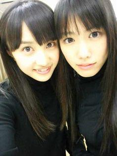 Kanako Momota and Reni Takagi