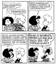 Todos podemos entender esto, no? #Mafalda #Susanita