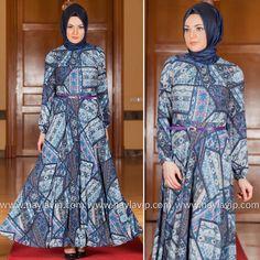 PUANE - DRESS - 4805L #hijab #naylavip #hijabi #hijabfashion #hijabstyle #hijabpress #muslimabaya #islamiccoat #scarf #fashion #turkishdress #clothing #eveningdresses #dailydresses #tunic #vest #skirt #hijabtrends