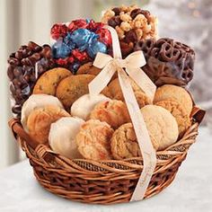 Baked goods premium gift basket basket ideas gift and stocking sugar free gift basket harry and david 6995 pintowingifts gifts great negle Images