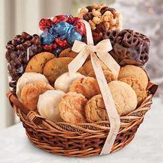 Baked goods gift basket arteculinario mavigraf my style sugar free gift basket harry and david 6995 pintowingifts gifts great negle Images