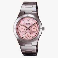 Orologio casio donna rosa acciaio idea regalo