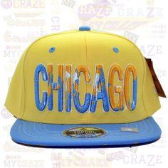 TopCul Urban Hip Hop Rap Streetwear Street Wear Hat Dripped Chicago Snapback Cap – MyCraze #TopCul #Streetwear #HipHop #Chicago #Snapback #BaseballCap