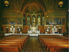 Detroit (Delray), Holy Cross Hungarian Roman Catholic Church, Card, Holiday