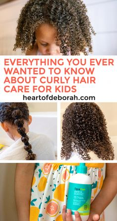 Everything You Ever Wanted to Know About Curly Hair Care For Kids Not sure how to care for your child's gorgeous curls? With these 7 tips for curly hair care in kids learn how to maximize curl definition and embrace your child's naturally curly hair! Curly Hair Routine, Curly Hair Tips, Curly Hair Care, Curly Hair Styles, Natural Hair Styles, Baby Curly Hair Products, Natural Beauty, Mixed Curly Hair, Mixed Hair Care