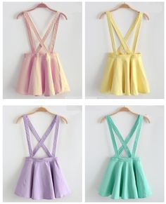 Pastel skirt jumpers