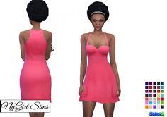 Pocketed Sweetheart Sundress at NyGirl Sims via Sims 4 Updates