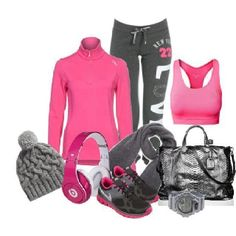 Great looking workout outfit