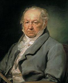 Retrato de Goya de Vicente López