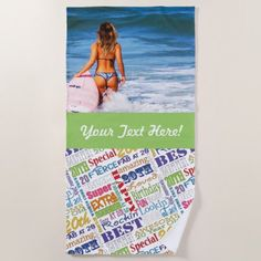 Unique And Special 20th Birthday Party Gifts Beach Towel