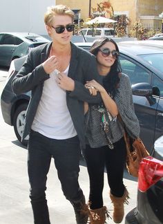 Vanessa Hudgens and Austin Butler Photos Photos - Actress Vanessa Hudgens and her beau Austin Butler went on a shopping spree at Planet Blue in Los Angeles, California on April 11, 2012. Vanessa entered wearing a grey shirt and black pants but left wearing a new graphic sundress. - Vanessa Hudgens Shopping Spree At Planet Blue