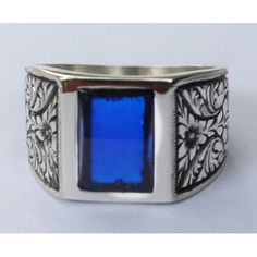 Sterling Silver 925 men ring ,ethnic design with Tightening Fire amber stone ,steel pen crafts