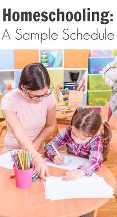 Homeschooling: A Sample Schedule