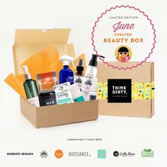 We are partnering with rated clean 0-3 beauty brand sponsors1who support our mission to bring the most requested beauty box to you. Each box comes with 9 hand-picked, rated clean beauty products, a full she-bang of Think Dirty swag goodies and lots of love. Valued at over $USD 250+, specially offered to you for $USD 95!    The Think Dirty Clean Beauty box is the perfect gift for health-conscious significant others, hard-core yogi friends, or kale-loving besties. Or better yet, show yourself