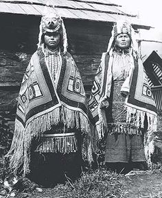 tsimshian people, those of high status within the hierarchical society