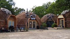 dome-house-lukeman in Huntsville, Texas