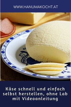 Can& make homemade cheese in 30 minutes and without rennet? Oh yes and . - Can& make homemade cheese in 30 minutes and without rennet? Oh yes and in today& video - Cheese Recipes, Cooking Recipes, Homemade Cheese, Survival Food, How To Make Cheese, Whole 30 Recipes, Diy Food, Finger Foods, Food Inspiration