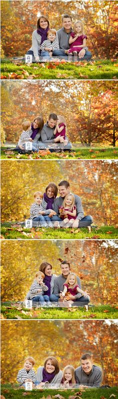 """colors and posing of family... {posed to see everyone... but not to """"pose-y""""}"""