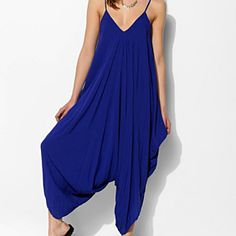 Drapey harem pant jumpsuit by Myrtle&Flossie boutique on Opensky