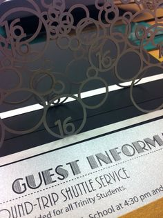 Precision laser cutting and custom designs really set Persnickety Invitation Studio apart. Custom invites are a great way to get your guests excited!  Pin from DreamWeddingsPA.com