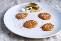 Sea Salt and Black Pepper Caramel Bites - Carolyn, you have to make this!