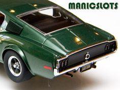 Slot Car, Pioneer, 'Bullitt' Mustang