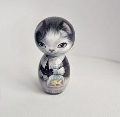 Kokeshi Cat