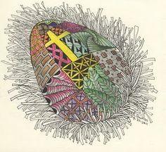 Easter Zentangles